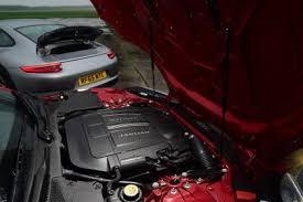 jaguar f type vs porsche 911 porsche 911 s vs jaguar f type r auto express