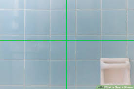 6 ways to clean a shower wikihow