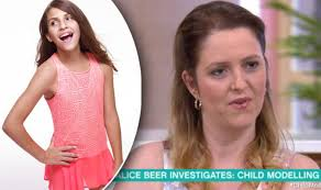 model teen modeling tv alice alice beer reveals how you can avoid child modelling scams life