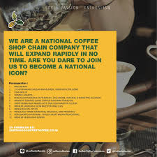 Franchise Coffee Toffee coffee toffee idn on are you to join us to become a