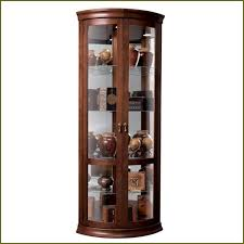 corner glass curio cabinets with furniture interesting ikea