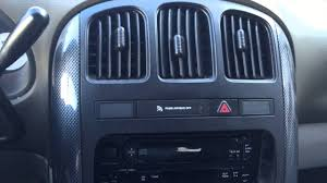 installing an aftermarket radio in your 4th generation chrysler or