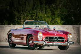 classic red mercedes photo of the day strawberry red 1957 mercedes benz 300 sl