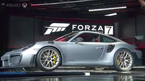 porsche 911 supercar porsche 911 gt2 rs revealed at e3 alongside forza motorsport 7