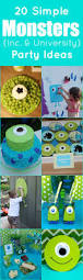 Kid Halloween Birthday Party Ideas by 20 Simple Monsters Inc And University Party Ideas Kids Birthday