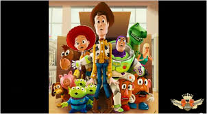 toy story characters speed painting photoshop video tutorial