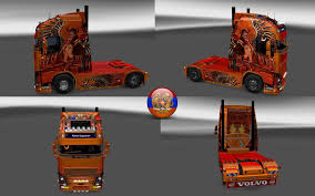 skin pack new year 2017 for iveco hiway and volvo 2012 2013 volvo fh 2013 temptress skin v1 0