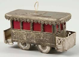 lot 483 dresden street car christmas ornament dresden