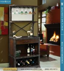 Metal Bar Cabinet 695138 Mountain Wine Bar Cabinet 14 Bottles Metal Wine Rack