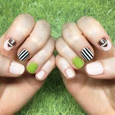 super bowl nail art ideas popsugar beauty