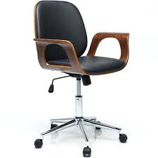 fauteuil de bureau en bois pivotant fauteuil de bureau cuir confortable fauteuil pivotant de bureau en