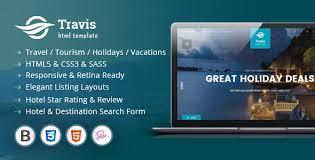 travis travel listing html5 template by kopasoft themeforest