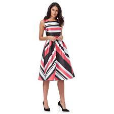 coloured dress debut dress multi coloured miami striped prom dress 80208346