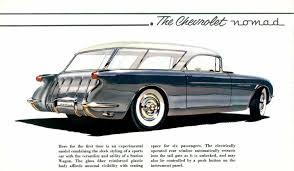 corvette world articles 1954 chevrolet gm corvette motorama