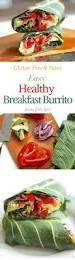 healthy breakfast burrito paleo gluten free healy eats real