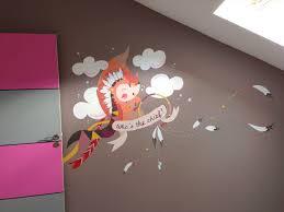 fresque chambre fille fresque murale chambre d enfants popote créativ création