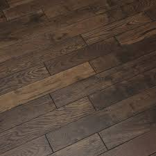 espresso oak brushed lacquered solid wood flooring direct wood
