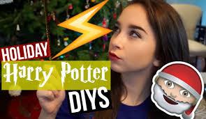 diy harry potter holiday decor gift ideas youtube