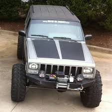 jeep grand xj in by popular demand blackout hoods for jeep xj now