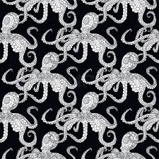 octopus wrapping paper detailed seamless pattern with octopus anti stress coloring page