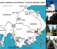 National Harbor Map Must Have Maps Of Acadia National Park Redgage