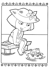 dora and boots coloring pagesfree coloring pages for kids free