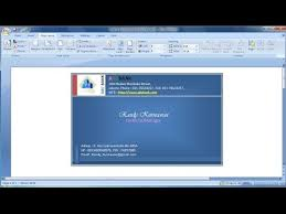 How To Design Your Business Card Microsoft Word Tutorial How To Design Your Own Business Cards