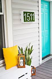 Modern House Creative Ways To Craft And Display Your Diy House Number Signs