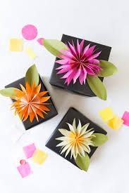 gift paper tissue diy paper tissue flower gift topper