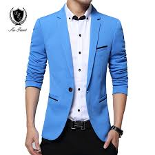 casual blazer mens fashion brand blazer casual slim fit suit jacket