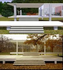 Farnsworth House Mod The Sims Farnsworth House