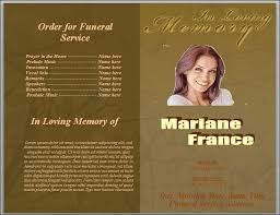 funeral program sle charming memorial service template word gallery exle resume