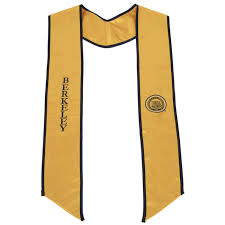 graduation scarf of california berkeley stole
