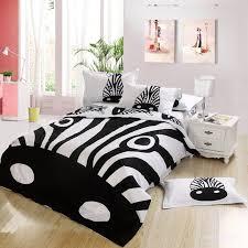Zebra Bed Set Animal Bedroom Design With Zebra Print Bedding Set Character