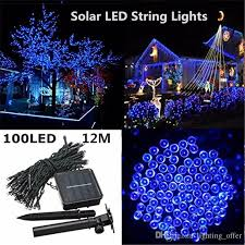xmas lights for sale sale outdoor led christmas lights 100led 12m color led solar