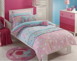 Girls Single Duvet Covers 2 Pce Jiggle Giggle Girls Birdcage Single Bed Quilt Cover Set