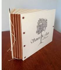 Engraved Wedding Albums Happily Ever After Personalized Wedding Book For Guest Book Or