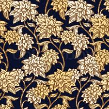vintage floral background beautiful flowers fashion seamless