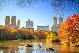 the best fall foliage in new york city