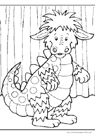 dragon color printable coloring pages kids