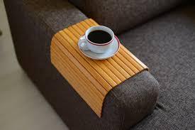 plateau de canapé canapé table plateau bambou canapé bras plateau plateau