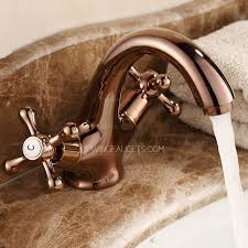 vintage gold two handles single bathroom faucets 76 99