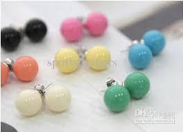 cheap stud earrings 2017 cheap earrings stud sale fashion colourful stud earrings