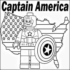avengers captain america coloring pages color zini
