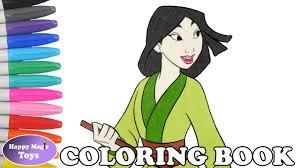 disney mulan coloring book disney princess mulan coloring