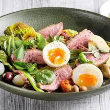 cuisine nicoise ian curley s duck nicoise salad recipe ian curley recipes a