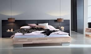 Modern Wood Bed Frame Modern Grey Bed Inside Modern Design Bedroom With Wood Headrest