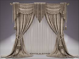 living room french country window treatments country drapes and