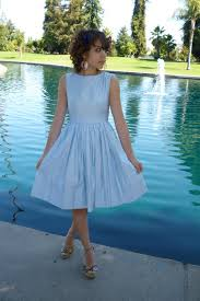 baby blue 50s dress how to wear and where to buy chictopia