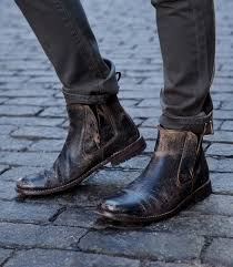 casual motorcycle boots this mens taurus bed stu boot pairs well with any casual street